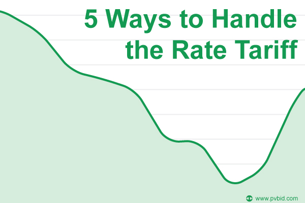 5 Ways to Handle the Rate Tariff
